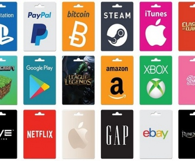 Most Popular Gift Cards In The World